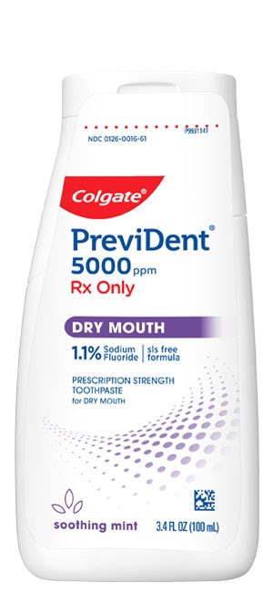 PreviDent® 5000 Dry Mouth (Rx only) (1.1% Sodium Fluoride) Toothpaste - a caries preventive